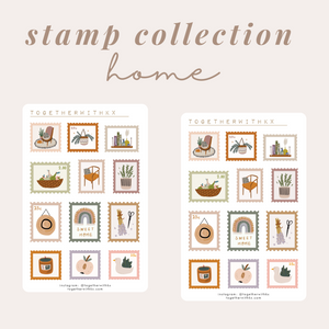 Stamp Collection - Home
