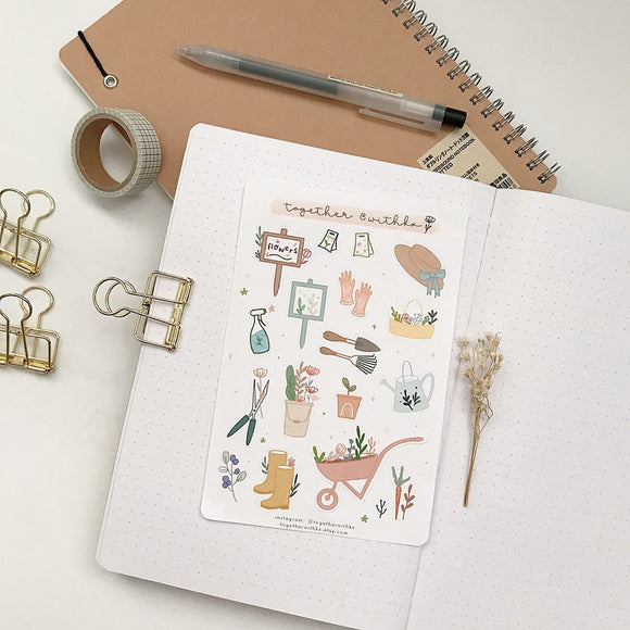 Garden Time Sticker Sheet