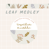 Leaf Medley Washi Tape