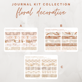 Decorative Floral - Journal Kit