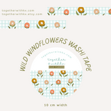 Wild Windflower 10mm Washi Tape