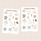Tea Lovers Sticker Sheet