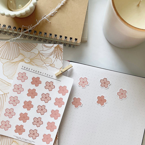 Cherry Blossom Mini Sticker Sheet