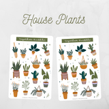 House Plants Sticker Sheet