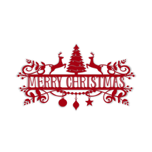 Load image into Gallery viewer, Decorative Merry Christmas