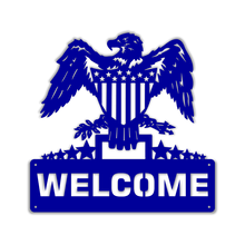 Load image into Gallery viewer, Patriotic Welcome Eagle