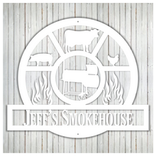 Load image into Gallery viewer, Custom Smokehouse Sign