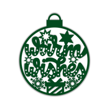 Load image into Gallery viewer, Warm Wishes Christmas Bulb