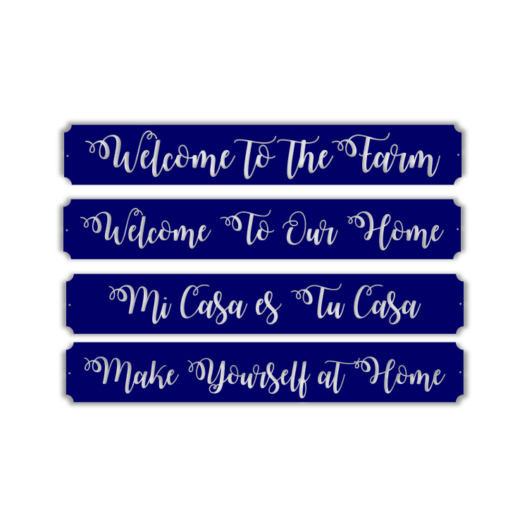 Welcome To ___________!