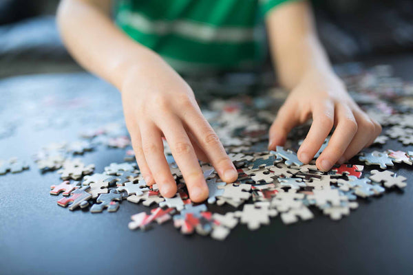 Puzzles help improve your kids brains