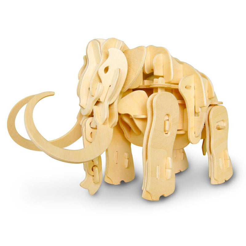 Sound Controlled 3D Mammoth Laser Cut Model Puzzle