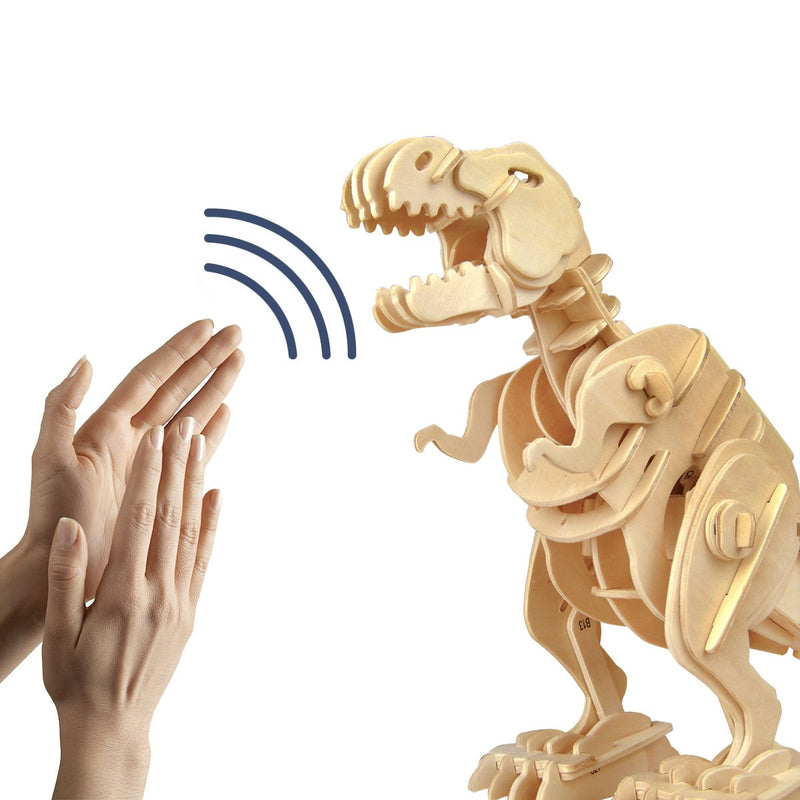 Walking Robot T-Rex - Sound Controlled 3D Model Dinosaurs!