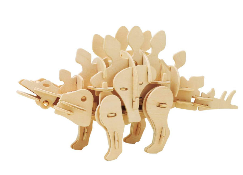 Sound Controlled 3D Stegosaurus Laser Cut Model Puzzle