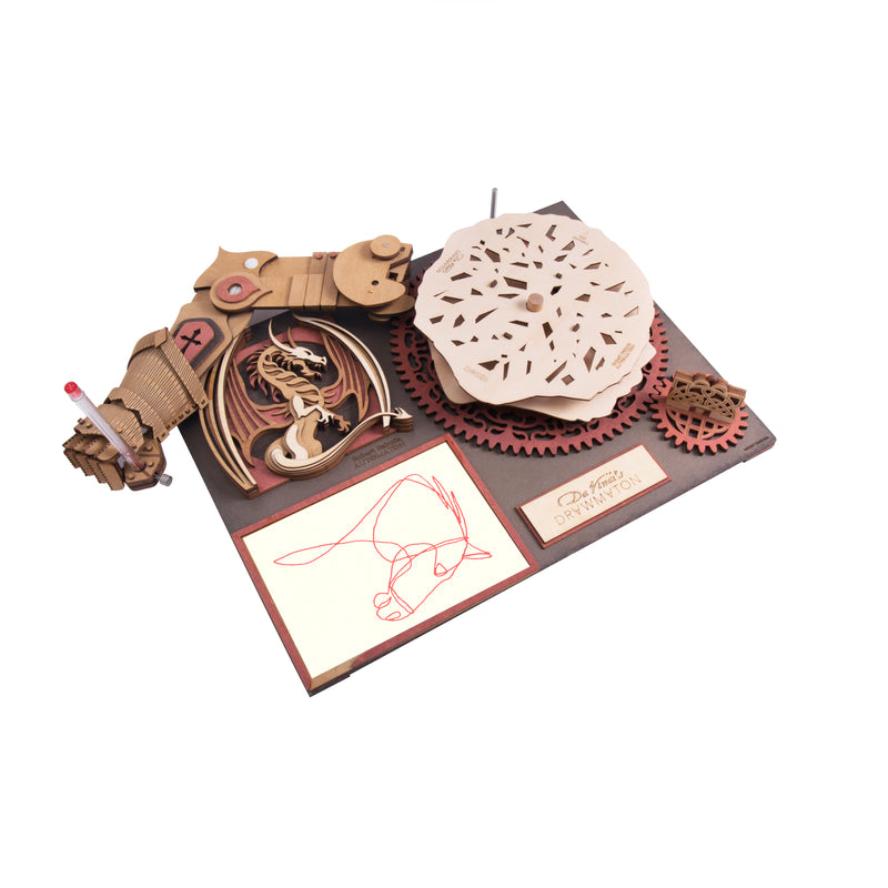 Build Me! Self Drawing Hand Automaton - 3D DaVinci Puzzles