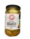 The Backyard Food Company Sweet & Tart Bread & Butter Heirloom Pickle (16 oz)