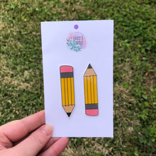 Load image into Gallery viewer, Mini Teacher Pencils Vinyl Sticker