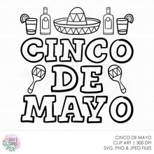 Load image into Gallery viewer, Cinco de Mayo SVG File