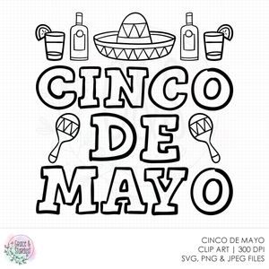 Cinco de Mayo SVG File
