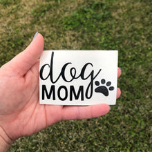 Load image into Gallery viewer, Dog Mom Vinyl Decal