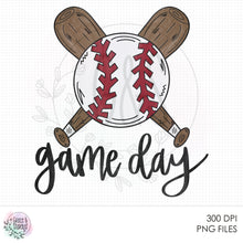 Load image into Gallery viewer, Baseball Game Day 2 Sublimation Design