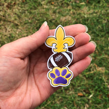 Load image into Gallery viewer, Saints and Tiger Football Vinyl Sticker