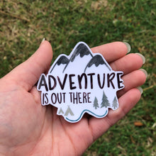 Load image into Gallery viewer, Adventure Is Out There Vinyl Sticker