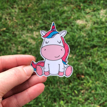 Load image into Gallery viewer, Unicorn Vinyl Sticker