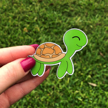 Load image into Gallery viewer, Sea Turtle Vinyl Sticker
