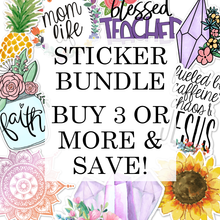 Load image into Gallery viewer, Vinyl Sticker/Decal Bundle