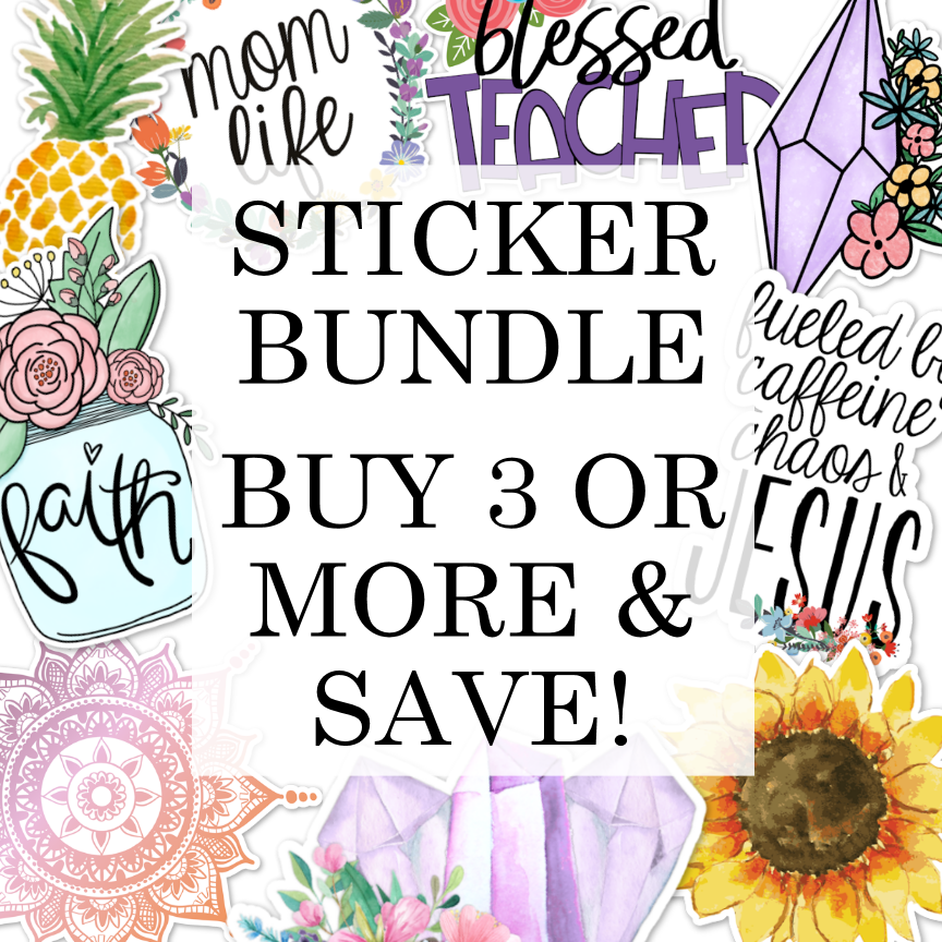 Vinyl Sticker/Decal Bundle