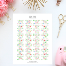Load image into Gallery viewer, Printable Watercolor Floral Bible Tabs
