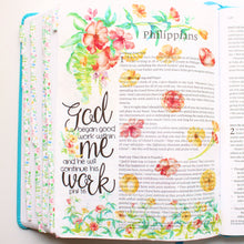Load image into Gallery viewer, He Will Continue His Work Printable Bible Stickers