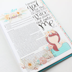 His Glorious Grace Printable Bible Stickers