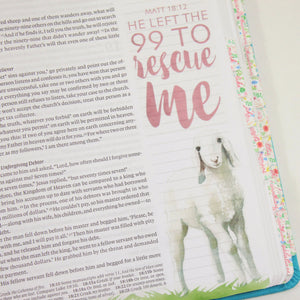 He Left The 99 To Rescue Me Printable Bible Stickers