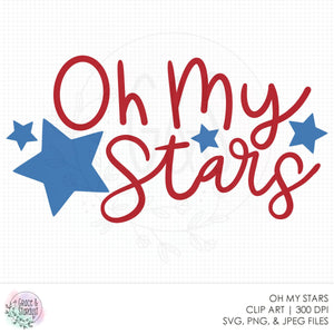 Oh My Stars SVG File