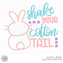 Load image into Gallery viewer, Shake Your Cotton Tail SVG File