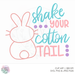 Shake Your Cotton Tail SVG File
