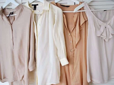 neutral colour clothing