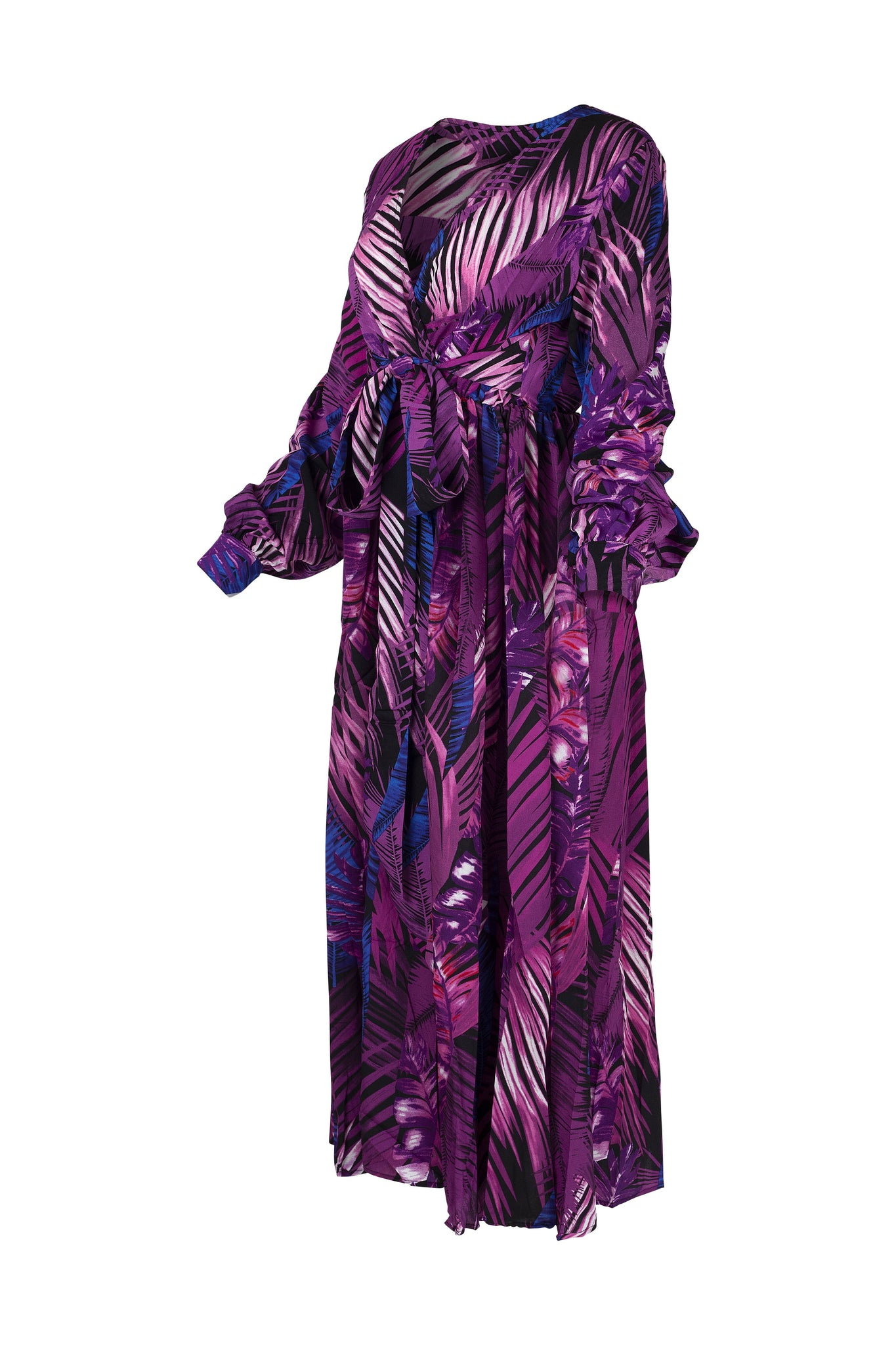 Ruffled Maxi Dress - WearhouseOnline