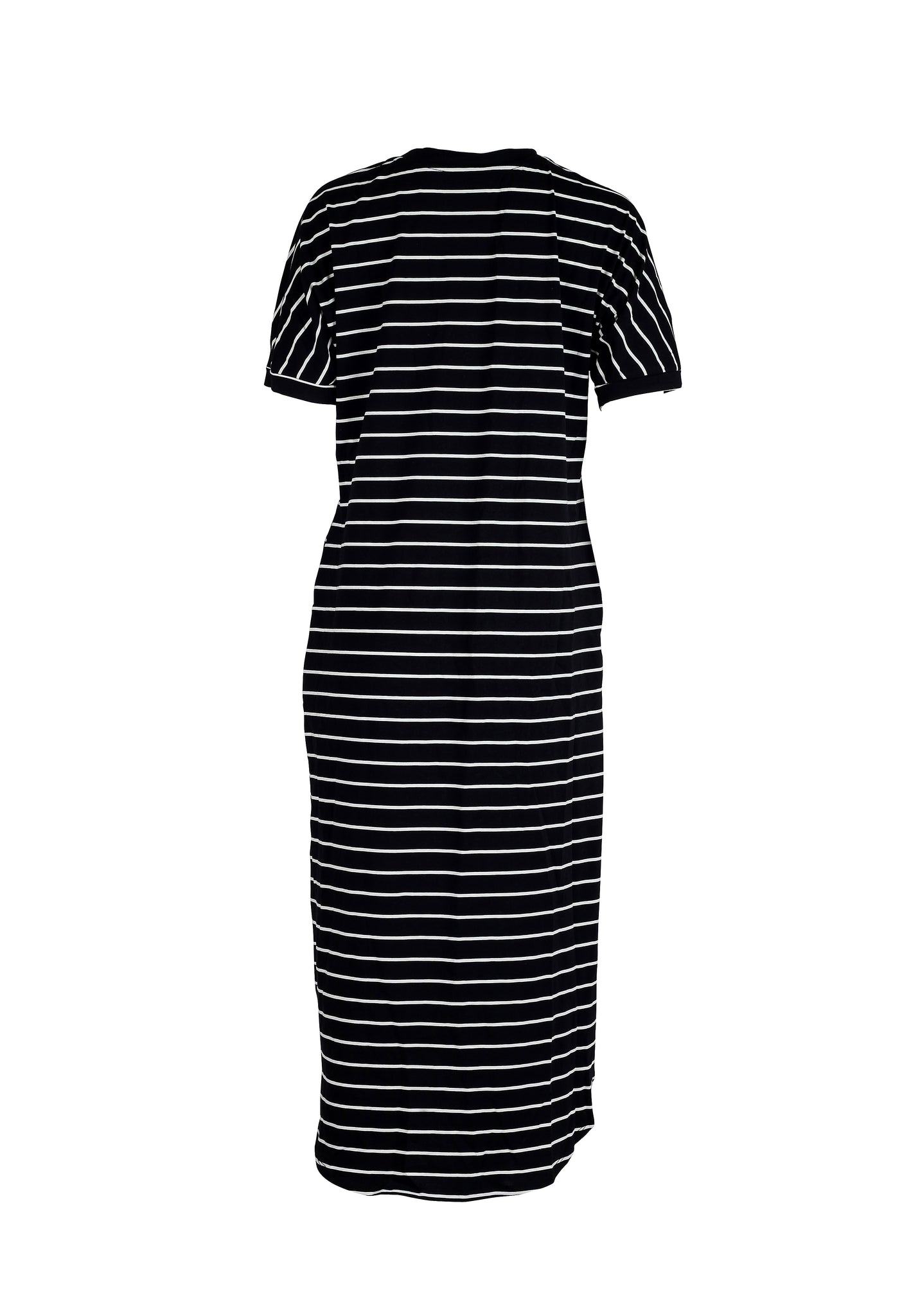 Side Split Striped Dress