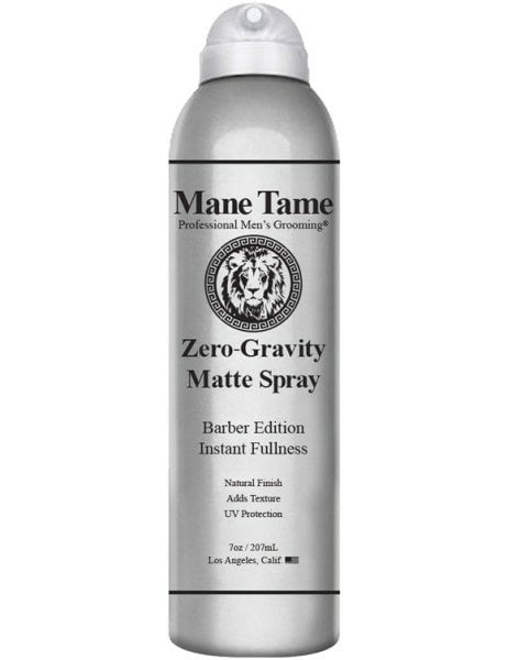 Mane Tame Zero Gravity  Matte Hairspray 7oz