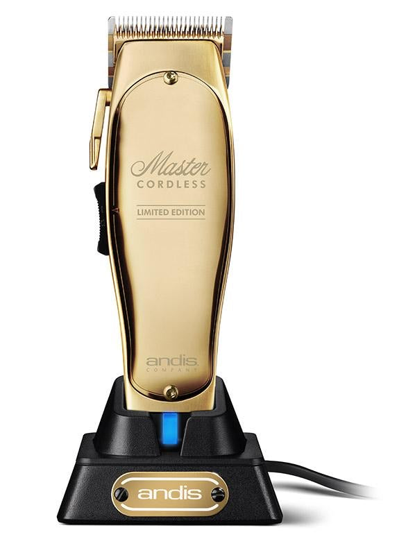 Andis Master Cordless Limited Gold Edition