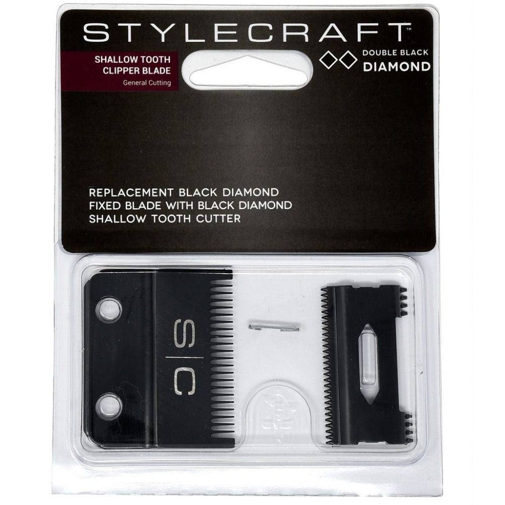 Stylecraft Replacement Black Diamond Fixed Blade with Black Diamond Cutter