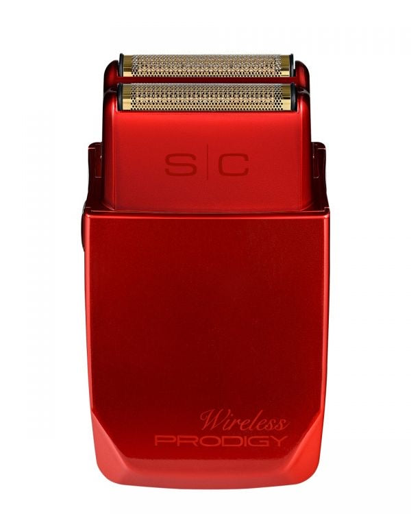 Stylecraft Wireless Prodigy Foil Shaver - Shinny Metallic Red