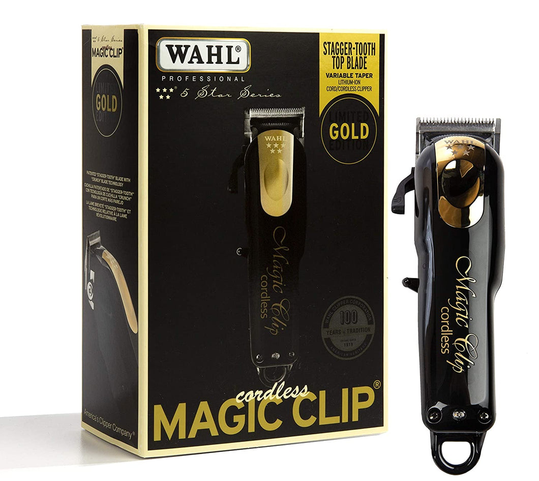 Wahl Magic Clip Cordless Black/Gold