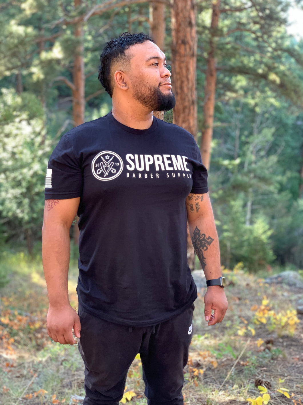Supreme Barber Supply Black T-Shirt