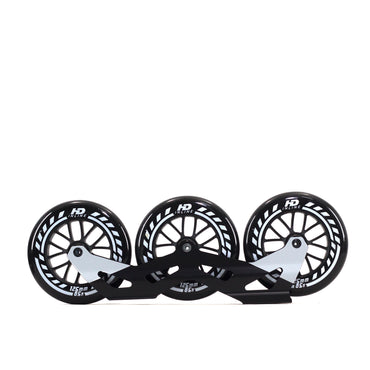 Base P/ Patins Roller Hd Inline Rodas HD 125mm 85a Abec-9