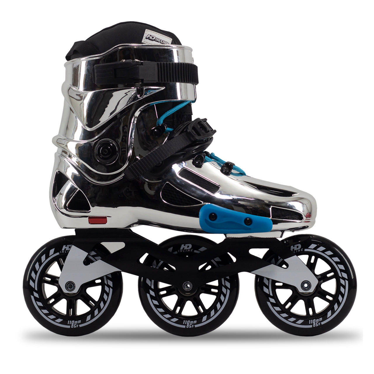Patins Hd Inline Chrome Evolution 110mm Abec9 Serie Limitada