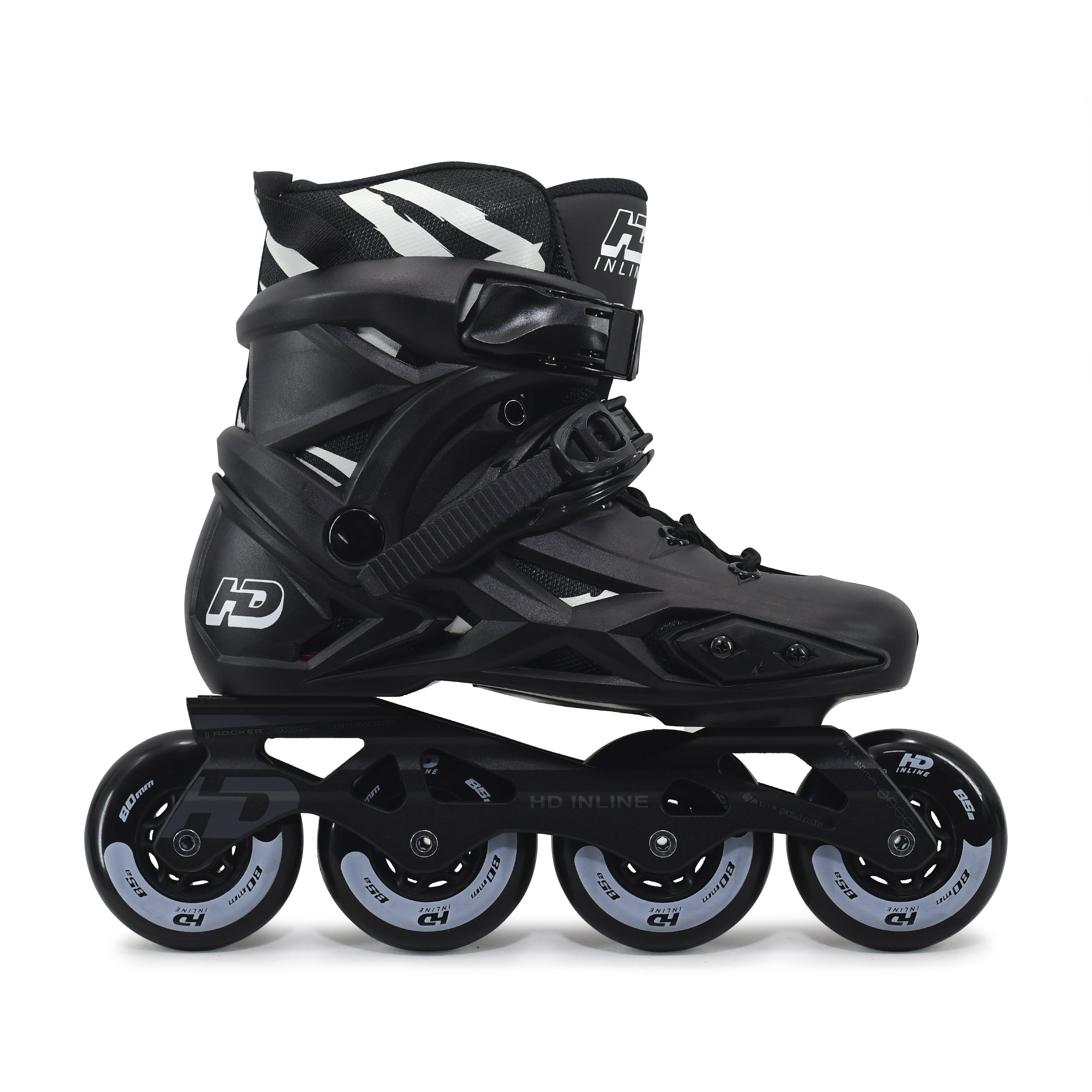 Patins Roller Hd X Profissional 80mm 85a Abec-9