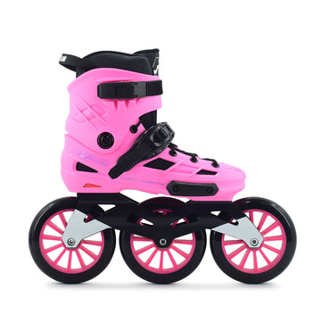 Patins Urbano HD Inline New Skull 2021 125mm Abec-7 Rosa